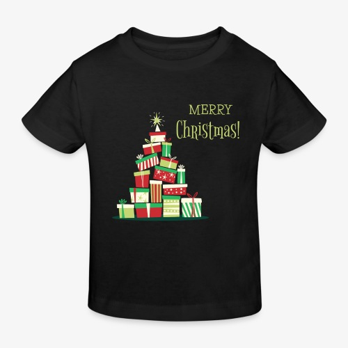 Gifts - Merry Christmas - Kids' Organic T-Shirt