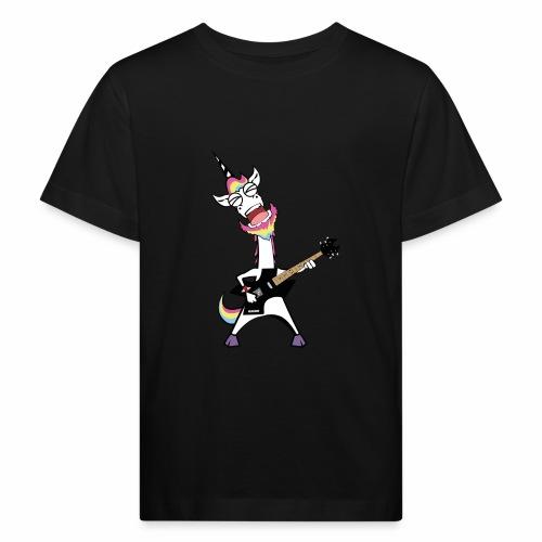 Metal Corn - Das Einhorn für den Festivalsommer - Kinder Bio-T-Shirt