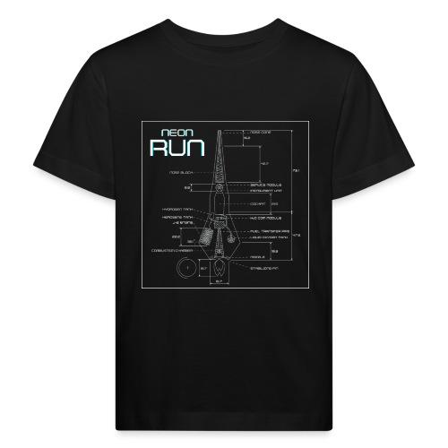 NeonRun - Kinderen Bio-T-shirt