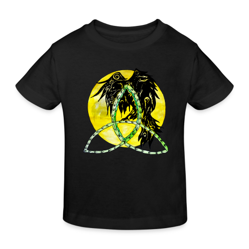 tribalrabe2 - Kinder Bio-T-Shirt