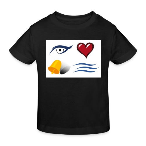 I LOVE GLOCKEN BACH jpg - Kinder Bio-T-Shirt
