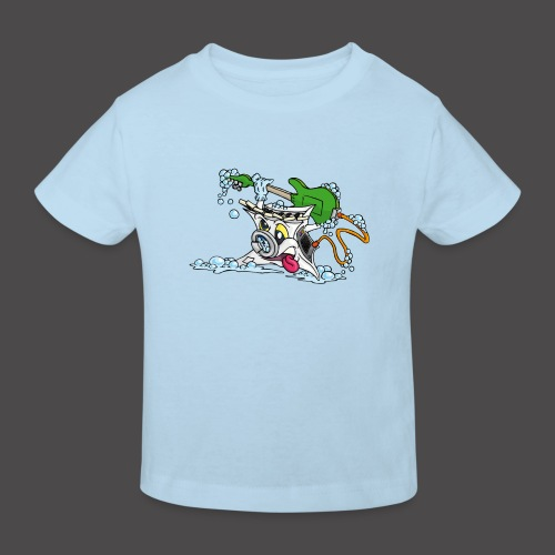 Wicked Washing Machine Wasmachine - Kinderen Bio-T-shirt