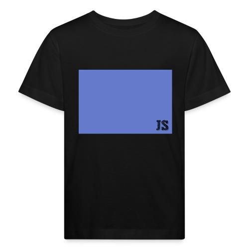 JustSquares Licht-Paars - Kinderen Bio-T-shirt