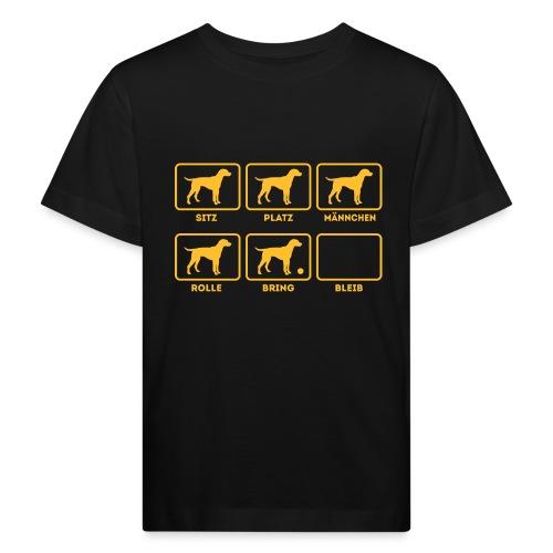 Für alle Hundebesitzer mit Humor - Kinder Bio-T-Shirt