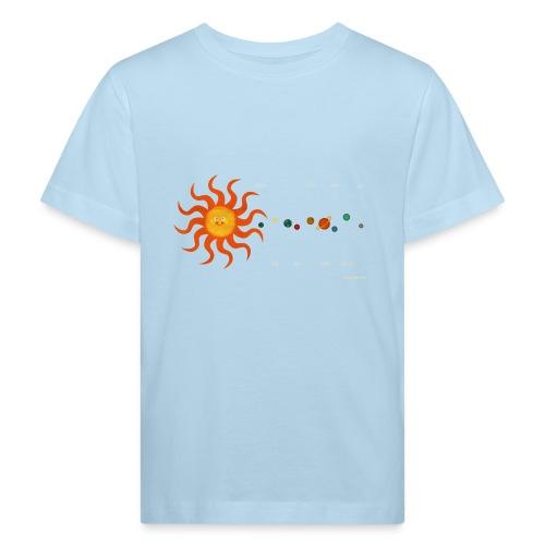 Solar System - Kids' Organic T-Shirt