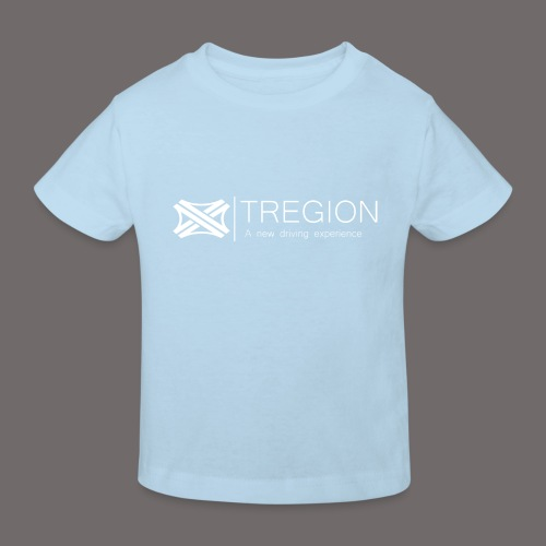 Tregion Logo wide - Kids' Organic T-Shirt
