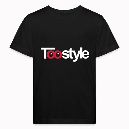 Toostyle white - Maglietta ecologica per bambini