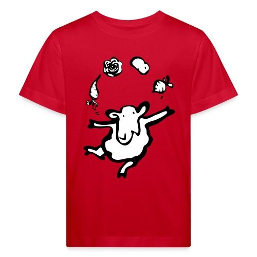 CSA Schaf mit Gemüse - Kinder Bio-T-Shirt