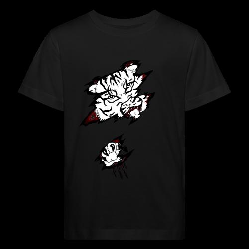 Böser Tiger - Kinder Bio-T-Shirt