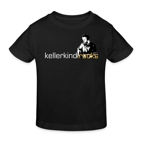 rocks logo full detailed - Kinder Bio-T-Shirt