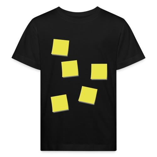 Post-Its - Kinderen Bio-T-shirt