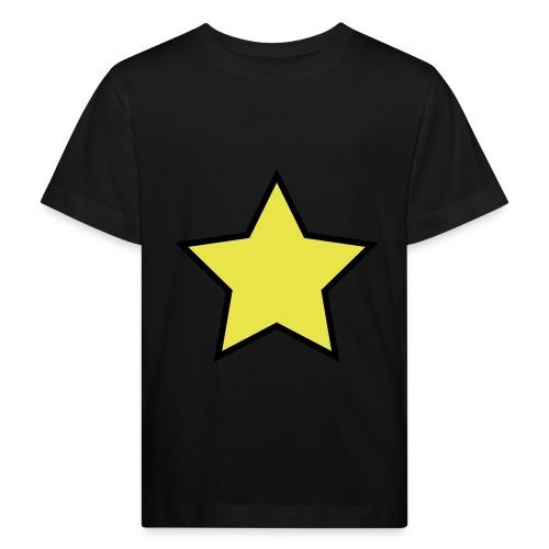 Star - Stjerne - Kids' Organic T-Shirt