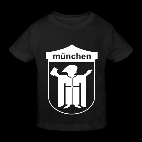 resi münchem - Kinder Bio-T-Shirt