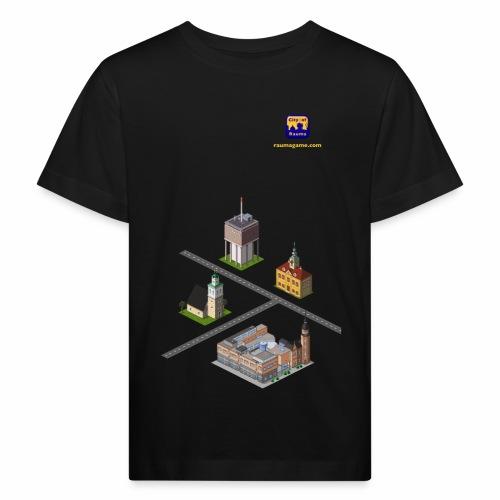 Raumagame mix - Lasten luonnonmukainen t-paita