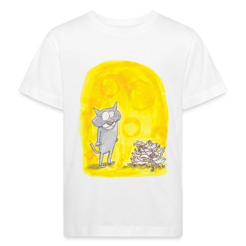 Le chat et les souris - T-shirt bio Enfant