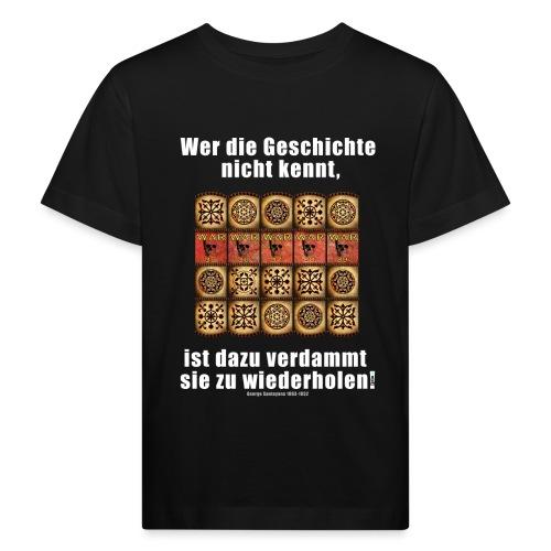 71_Geschichte_Lernen - Kinder Bio-T-Shirt