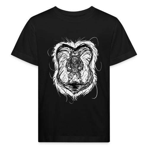 Horned Metalhead - Kids' Organic T-Shirt