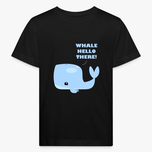 Whale Hello There - Organic børne shirt