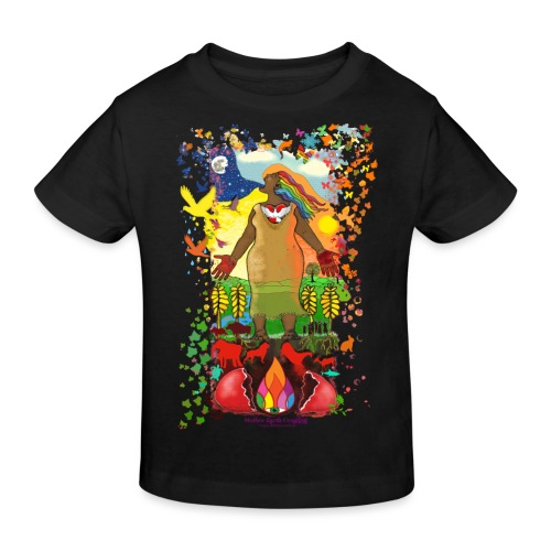 Mother Earth Creating - Kinderen Bio-T-shirt