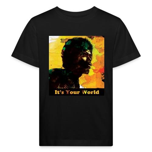 Gil Scott Heron It s Your World - Kids' Organic T-Shirt