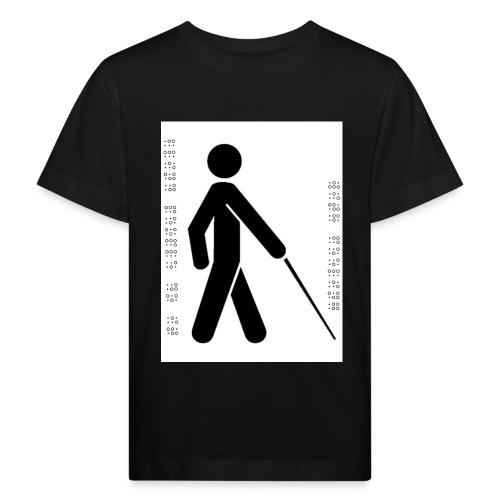 Blind T-Shirt - Kids' Organic T-Shirt