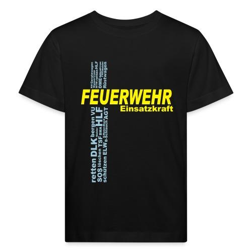 Feuerwehr Einsatzkraft - Kinder Bio-T-Shirt