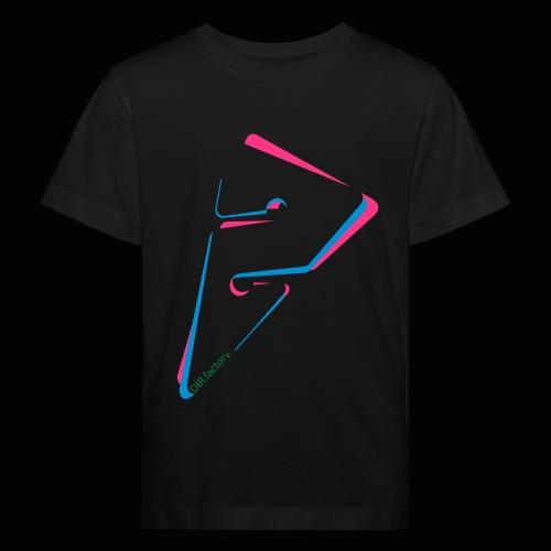 arrow freigestellt mit dirfactorytext - Kinder Bio-T-Shirt