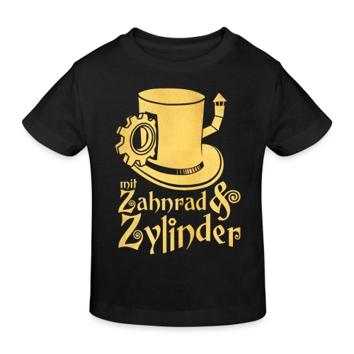 ZuZ-Logo - Kinder Bio-T-Shirt