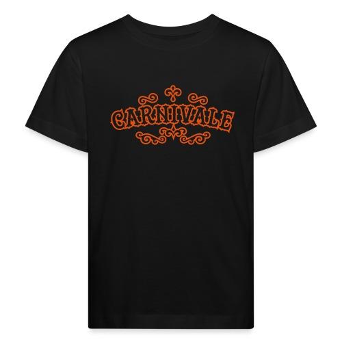 logo carnivale solo outli - Kinderen Bio-T-shirt