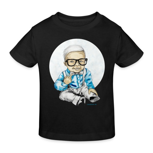 Naughty Boy, carographic - Kinder Bio-T-Shirt
