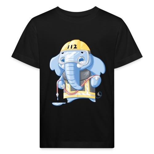 Feuerwehr Elefant - Kinder Bio-T-Shirt