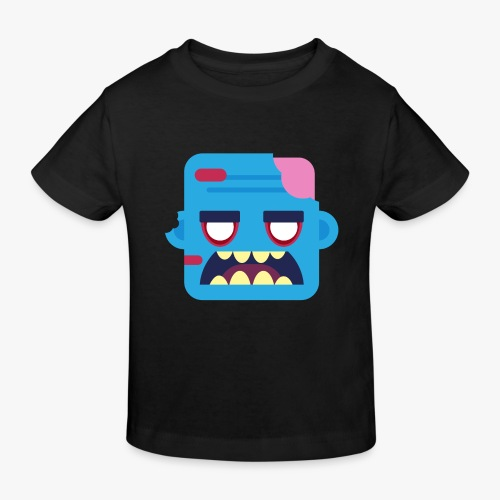 Mini Monsters - Zombob - Organic børne shirt