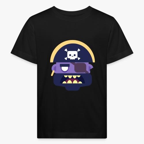 Mini Monsters - Captain Zed - Organic børne shirt
