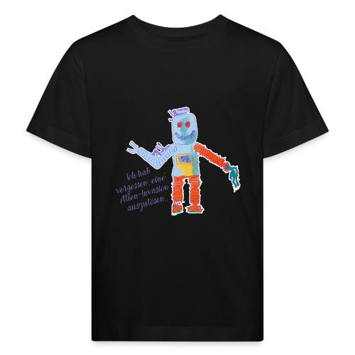 Alien Invasion - Kinder Bio-T-Shirt