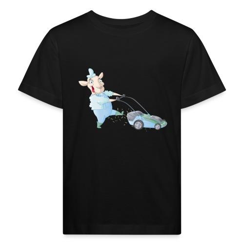 Der Rasen-MÄHER - Kinder Bio-T-Shirt