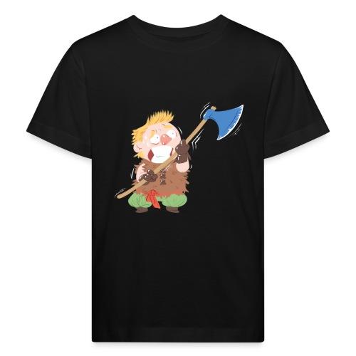 Wikinger Krieger Axt - Kinder Bio-T-Shirt