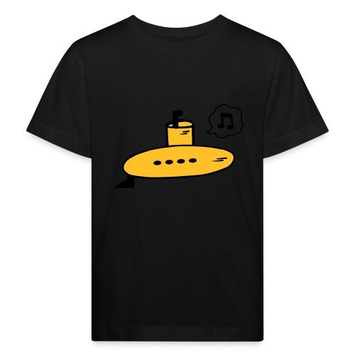Singing Yellow Submarine - Kids' Organic T-Shirt