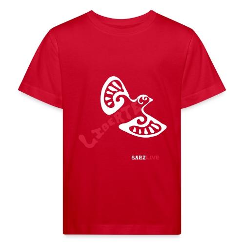 L'oiseau liberté (version light, par éoline) - T-shirt bio Enfant