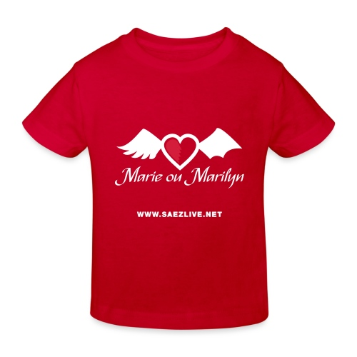 Marie ou Marilyn (version light) - T-shirt bio Enfant