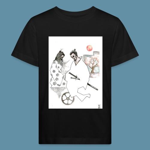 Samurai copia jpg - Maglietta ecologica per bambini