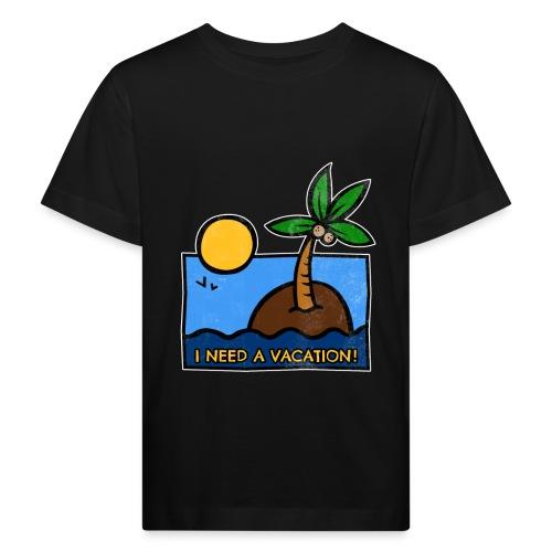 Vacation-png - Maglietta ecologica per bambini