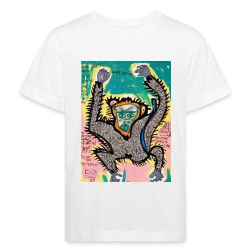the monkey - Maglietta ecologica per bambini