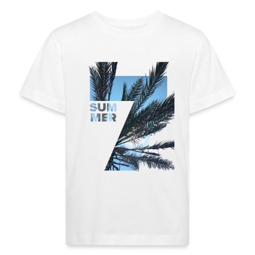 Summertime - Kinderen Bio-T-shirt