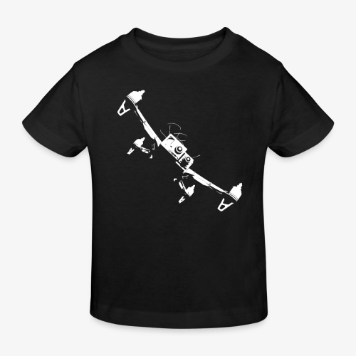 quadflyby2 - Kids' Organic T-Shirt