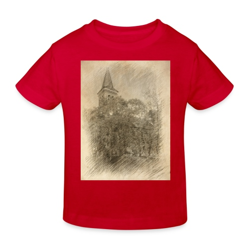 Baalberger Kirche - Kinder Bio-T-Shirt