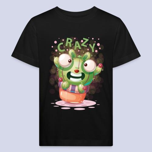 Crazy funny monster design for everyone - Kids' Organic T-Shirt