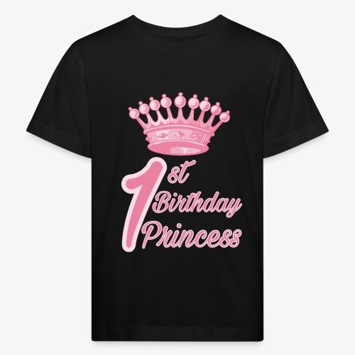 1st Birthday Princess - Maglietta ecologica per bambini