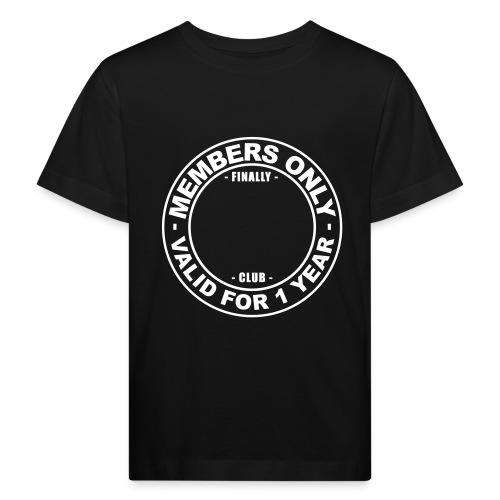 Finally XX club (template) - Kids' Organic T-Shirt
