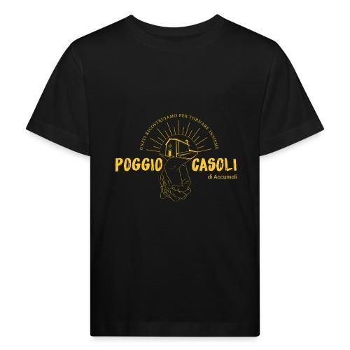 Poggio Casoli_Istituzionale_Giallo - Maglietta ecologica per bambini