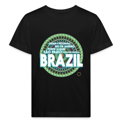 Lemon Brazil Mandala - T-shirt bio Enfant